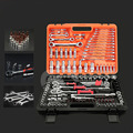 61/82/94 PCS Auto Gemischt Reparatur Sets Multi-funktion Kombination Paket Hand Tool Kit mit Kunststoff Toolbox Lagerung fall