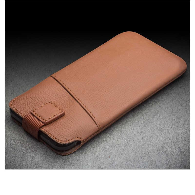 QIALINO Caso Bolsa de Luxo para o iphone XS MAX Max Apple Slots de Cartão da Carteira Bolsa Capa De Couro para iPhoneXs Ultra Slim telefone Saco Macio