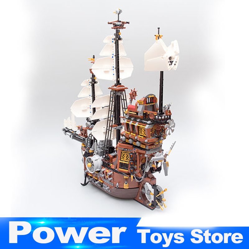 IN STOCK LEPIN 16002 2791Pcs Pirate Ship MetalBeard's Sea Cow Model Building Kits Blocks Bricks Compatible legoed 10708 Toys in stock new lepin 22001 pirate ship imperial warships model building kits block briks toys gift 1717pcs compatible10210