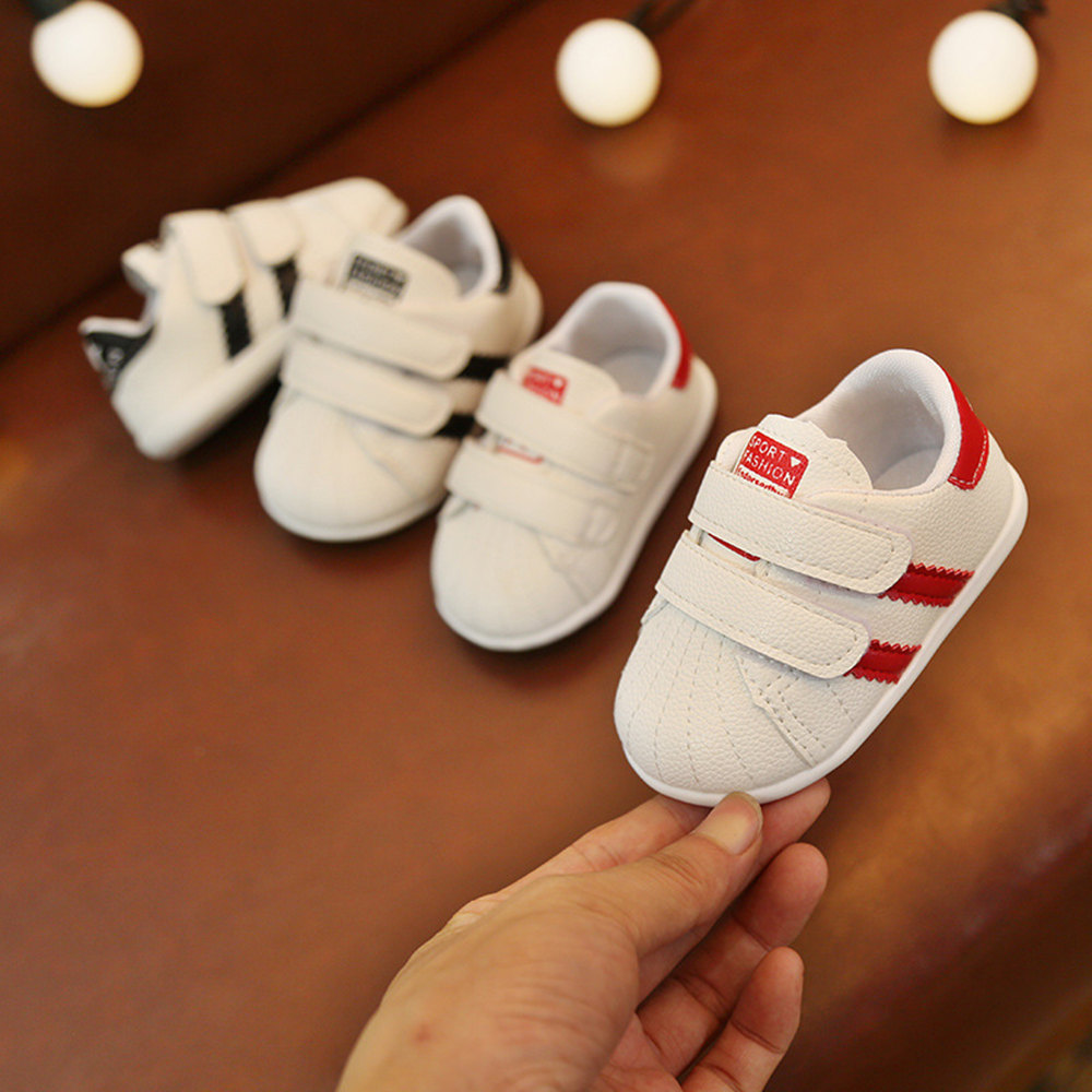 2019 Sneakers Newborn Baby First Walkers Boys Girls Infant Toddler Soft Sole Crib Shoes New Fashion Branded Baby shoes