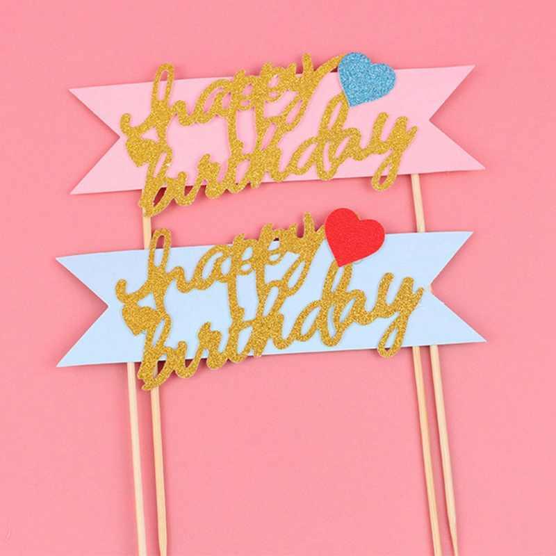 Розовые синие радужные воздушные шарики с нарисованными облаками коллекция торт Топпер десерт украшение для дня рождения прекрасные подарки Бесплатная доставка
