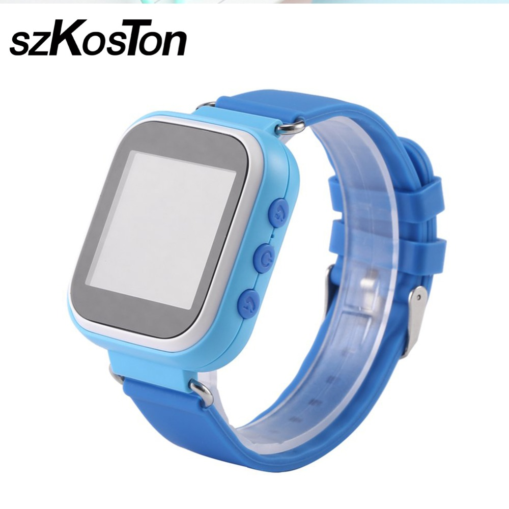 Kids Smart Watch GPS Watch Safe Anti-Lost Monitor Device with WIFI Location SOS Call Tracker Multiple Languages Color Display