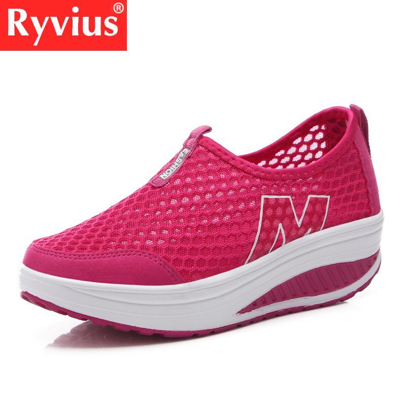 Ryvius Brand Women Shoes Fashion 2018 Summer Comfortable Women's Sports