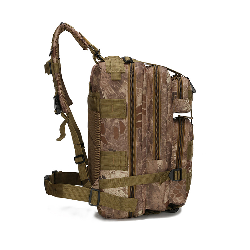 600D Outdoor Military Backpack Tactical Multipungsi Bag Waterproof Army Rucksack For Camping Climbing Hiking Hunting 28L Bag in Climbing Bags from Sports Entertainment