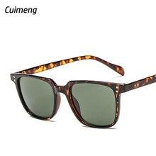 Luxury Aviation Sunglasses Men Square Leopard Sun Glasses Fo