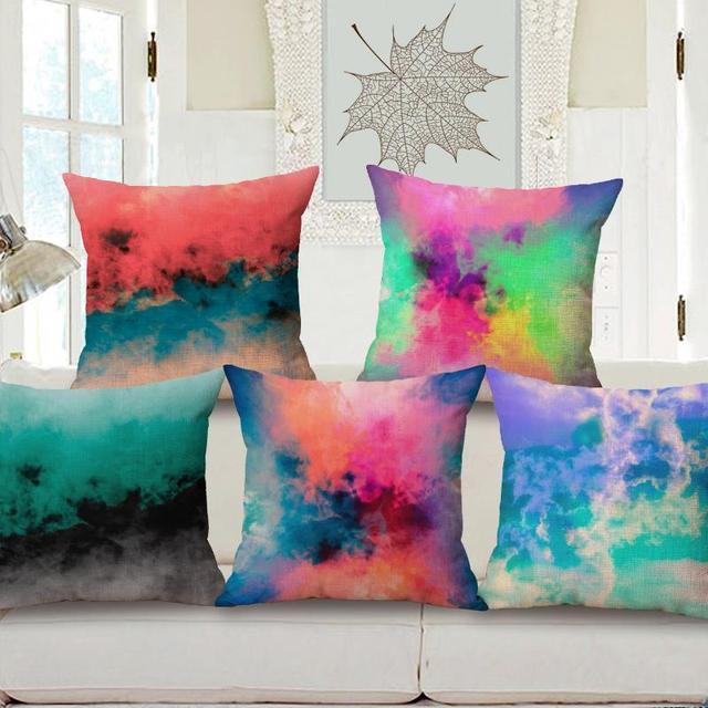 Colorful Nuvole Cuscini Decorativi Per Divano di Stampa Cuscino ...