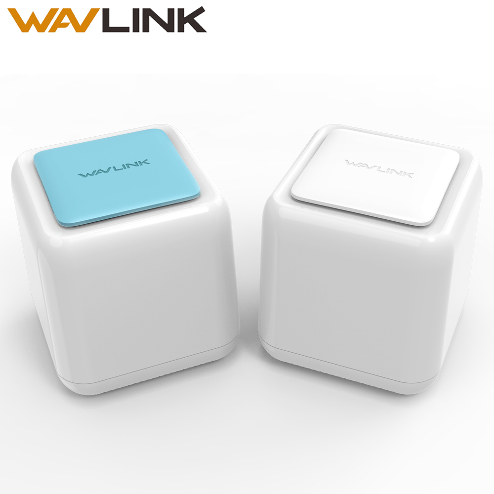 Wavlink Беспроводной Wi-Fi маршрутизатор сетки весь дом AC1200 Dual Band 2,4 г/5 ГГц touchlink Smart Wi-Fi ретранслятор сетка Wifi Системы Gigabit