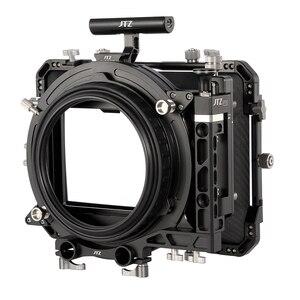 "Image 5 - JTZ DP30 Cine Carbon Fiber 4x5.65 ""Matte Box 15mm/19mm Voor Sony ARRI ROOD CANON A7 A7R A7RS A7RSIII GH4 GH5 GH6 A6500 FS7"
