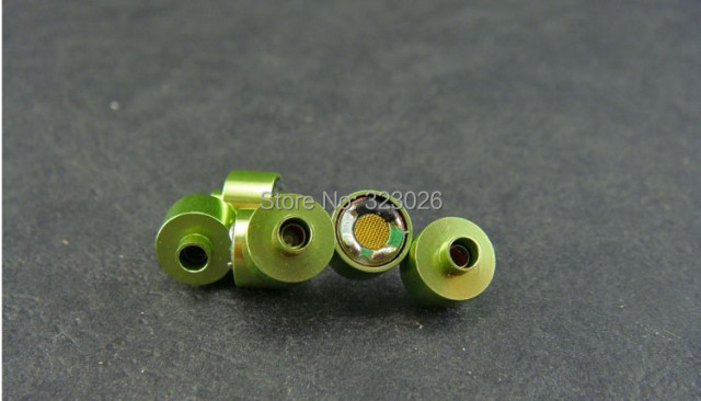 8mm speaker unit earphone speaker driver High Analytic three-band equalizer  Metal Plating Housing