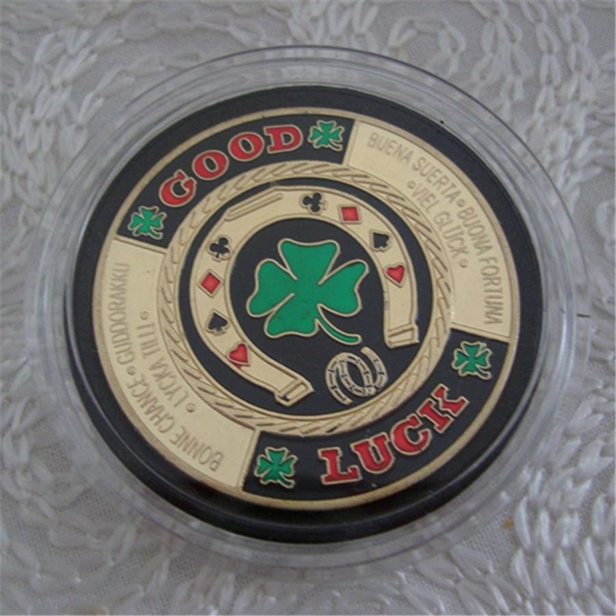 Brand NEW Casino Poker Chip Card Guard Good Luck