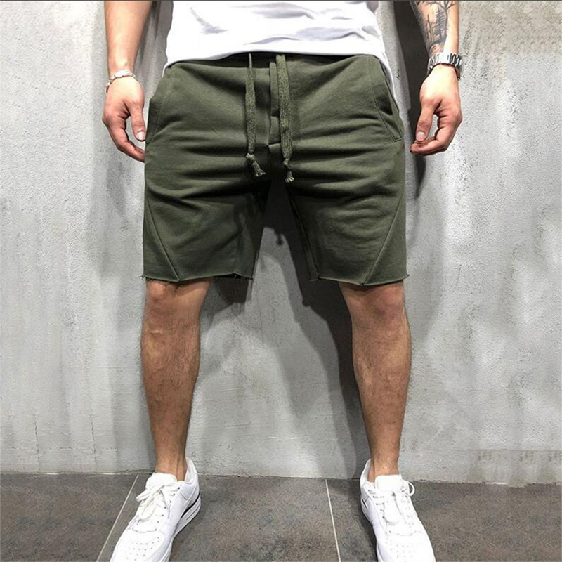 2019 New Summer Brand High Quality Cotton Men Shorts Bodybuilding Fitness Gasp Sweat Shorts Jogger Casual Mens Shorts