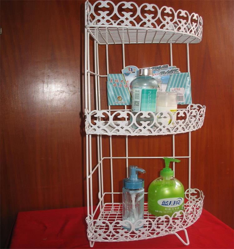 The bathroom shelf hanging around the corner sink cosmetics receive wash gargle in Storage Holders Racks from Home Garden