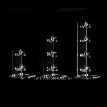 Assembled Multi Layers Acrylic Sunglass Display Rack Shelf Eyeglasses Show Stand Jewelry Holder For Multi Pairs Glasses Showcase fashion acrylic hair clip jewelry showcase holder hairpin display show stand holder jewelry display stand rack new arrival