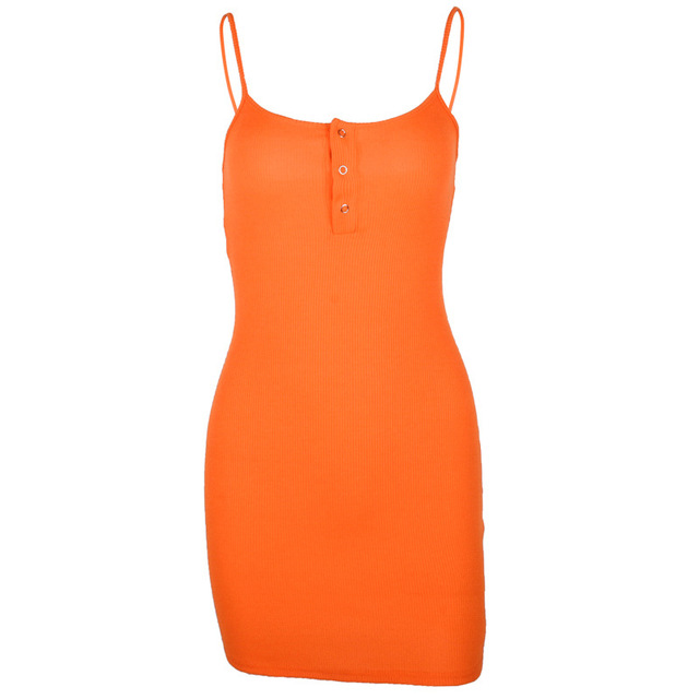 Sexy and Casual Mini Sleeveless Party Dress
