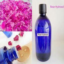 Медная канистра-дистиллированный натуральный чистый сорт-гидрозол розы 100 мл/бутылка