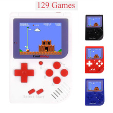 Retro Mini Handheld Game Player Kids Built-in 129 Classic No Repeat for FC Games Portable Gaming Console Gift for Kid Boy Girl(China)