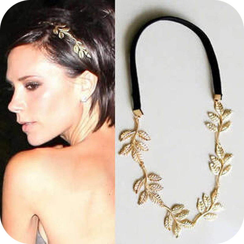 Free Shipping fashion british style romantic olive branch leaves