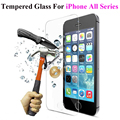 2.5D 0.3mm Premium Tempered Glass Screen Protector for iPhone 5 5S 5se 6 6s 6Plus For ipod touch 4 4S Toughened Protective film