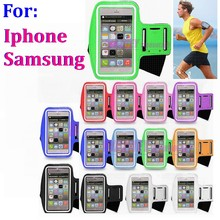 100pcs/lot Universal type Outdoor Running Sports Gym Arm Band armband For Samsung Galaxy S8 S7 note 8 7 plus iphone 8 X 7 6S