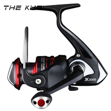 THEKUAI Full Metal Spinning Fishing Reel 12+ 1BB 16KG Max Drag Power For Bass 1000-7000 Series Freshwater Sea Fish