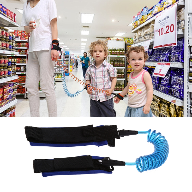 Baby Safety Anti lost Strap Walking Harness Wrist Band Leash Belt Traction Rope P101