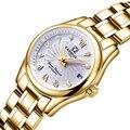 Карнавальные женские часы люксовый бренд женские Автоматические механические часы женские сапфировые водонепроницаемые relogio feminino C-8830-5