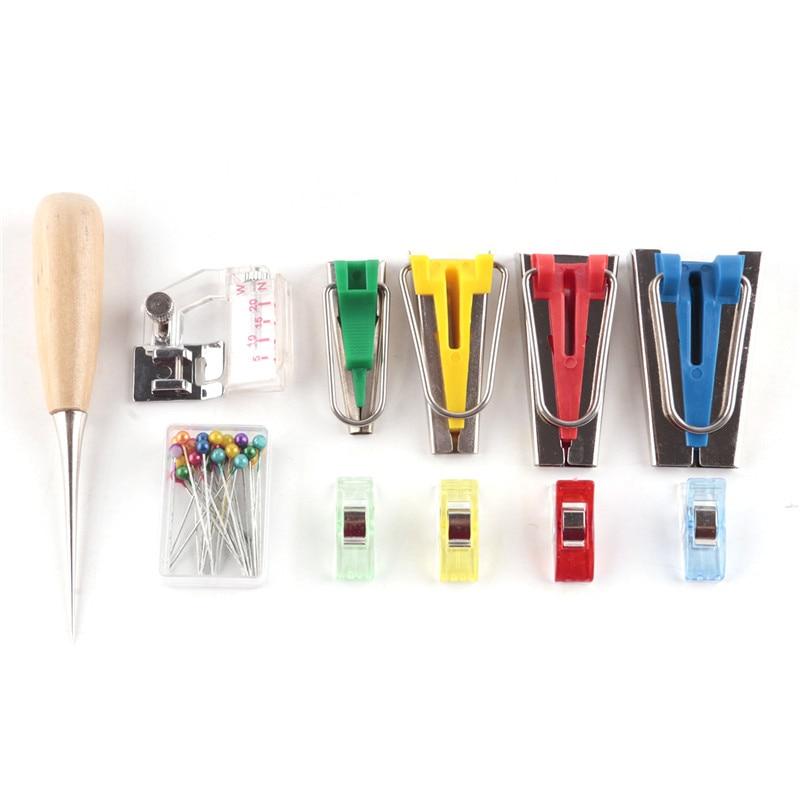 Stof Klaver Biaisbandmakers Binder Bindende klikvoet Foot Pin fit - Kunsten, ambachten en naaien - Foto 5
