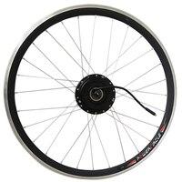 36 В 250 Вт 350 Вт 500 Вт Электрический велосипед Мотор колесо с обода спицы сзади бесщеточный шестерни мотора hub 6/7 выбеге подходит V дисковый торм