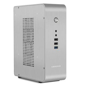 HTPC ITX Mini case USB3.0 3,5 ''HDD поддержка алюминиевого корпуса, CEMO 9000