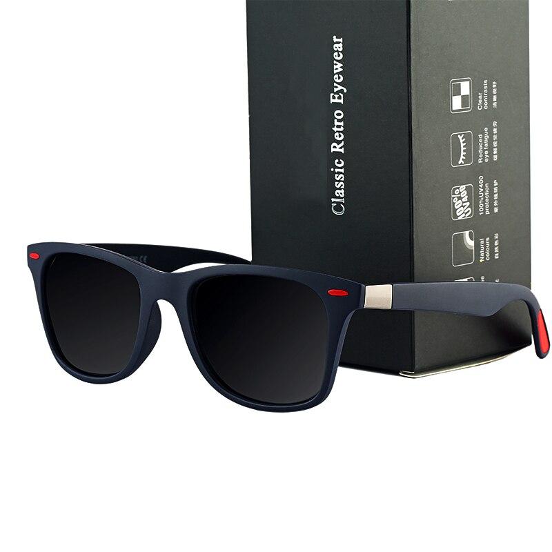 ASUOP 2019 New Square Polarized Men's Sunglasses UV400 Fashion Ladies Glasses Classic Brand Designer Sports Driving Sunglasses
