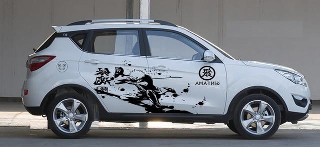 Online Shop Customizable Japanese Cartoon Anime Car Styling Whole - Car anime stickers