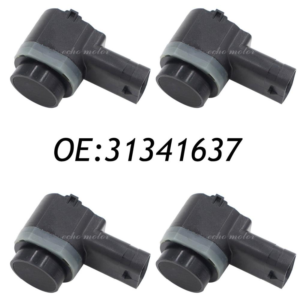 imágenes para Nuevo conjunto (4) 31341344 pdc sensor de aparcamiento se adapta volvo/c30/c70/xc70/xc90/s60/s80/v70 30786968 31270911 31341637