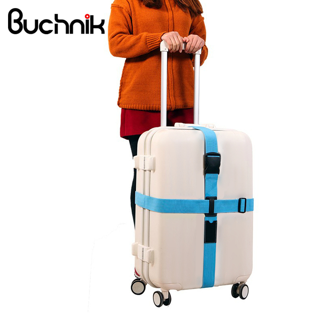Fixed Telescopic Luggage Strap Suitcase Belt Trolley Adjustable Security Scalable Bags Parts Case Travel Accessories Supplies