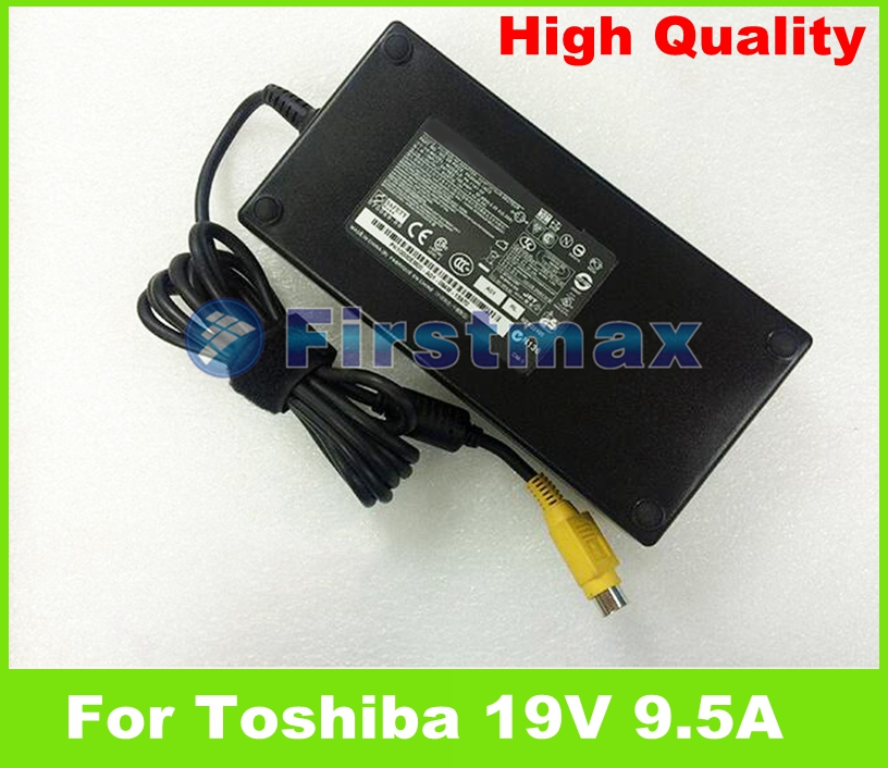 Prix pour Pour Toshiba 19 V 9.5A 180 W ordinateur portable AC adaptateur chargeur PA3546E-1AC3 ADP-180HB B pour Toshiba Satego X200 P200 Satellite X200 X205