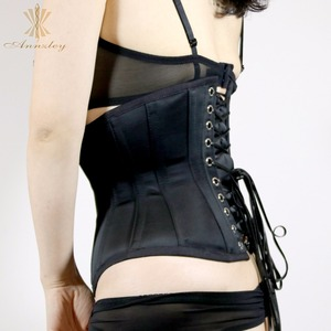 Image 4 - Cheap Plus Size Corsets For Sale Fast Slim 3 7 Inches Waist Slimming Steel Boned Underbust Korset