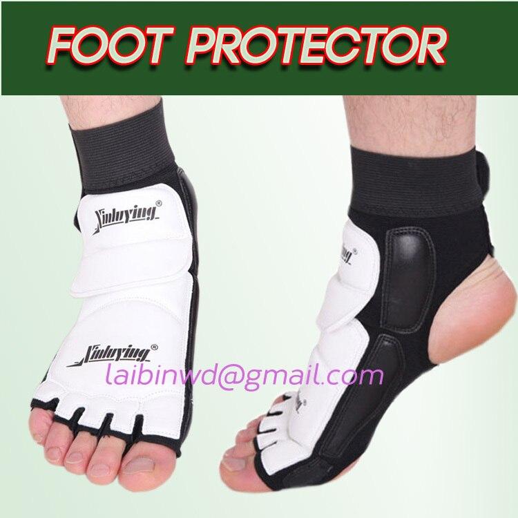 Prix pour Adultes et enfants Taekwondo & karaté protège pieds Support de cheville de défense WTF garde de pied Kickboxing de démarrage approuvé cheville soutien Brace