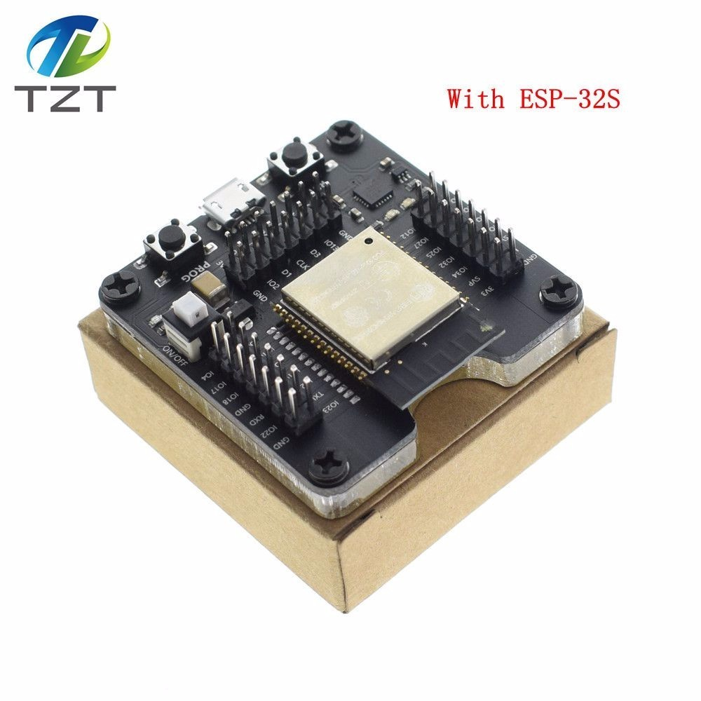 TZT Free  shipping 1PCS ESP32 test board ESP32-WROVER small batch burn fixture, for ESP-32 module ESP-WROOM-32 module ESP-32STZT Free  shipping 1PCS ESP32 test board ESP32-WROVER small batch burn fixture, for ESP-32 module ESP-WROOM-32 module ESP-32S
