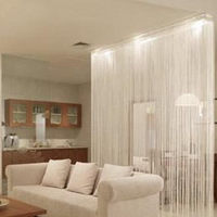 Encryption Bold Curtain Curtain Off The Entrance Curtain Finished Adding Decorative Sequins Line Monochrome Screens