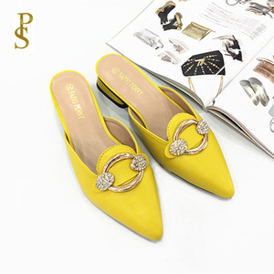 Image 1 - Womens shoes in summer PU sole slippers for ladies Womens pointed shoes