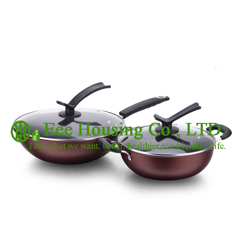cast iron cooking cookware kitchenware set, free shipping manufactuer in China hot sale fry wok pan, soup pot Kitchen