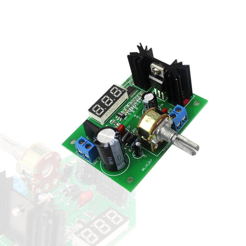 Online Shop Lm317 Dc 5v 35v Diy Kit Step Down Power Supply Module Ac Variable Circuit 125v 28v Continuously Adjustable Voltage Regulator