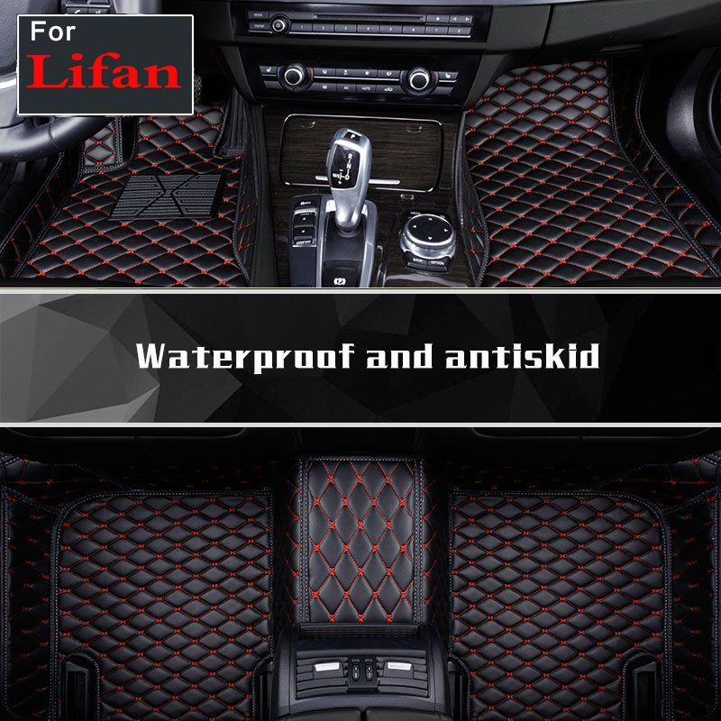 Customized Car Interior Left Drive Floor Mats Auto Accessories For Lifan 320 520 520i X60 X50 720 620 630 820 X80 330ev 620ev шаровая lifan 520 520i