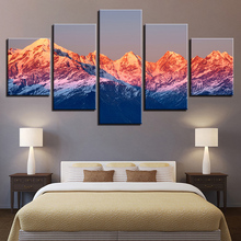Himalaya Landscape Print Canvas Painting Prints Bedroom Home Decoration Modern Wall HD Art Oil Posters Picture Artwork