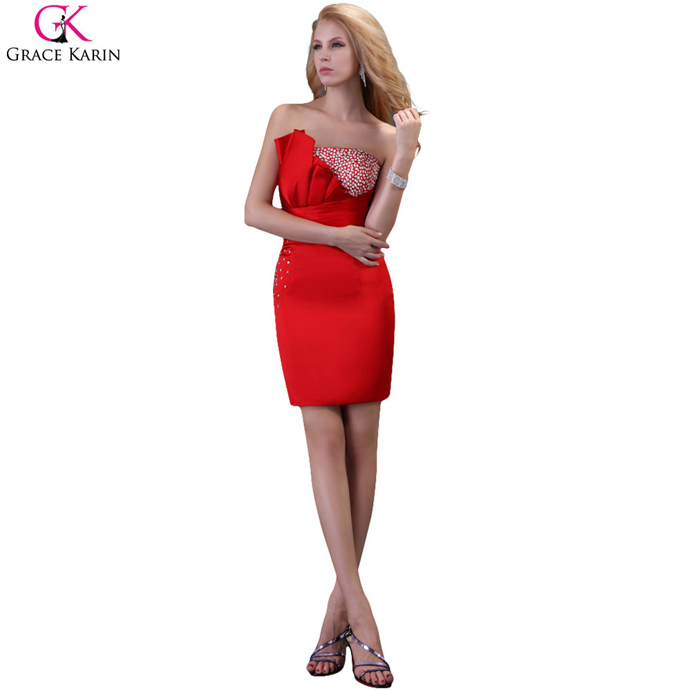 805a34e8b77 Short Formal Dresses Red Strapless - Data Dynamic AG