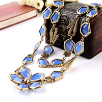 Online Shopping India Steampunk Necklace New Arrival Lava Girl Costume Halloween Jewelry Free Shipping