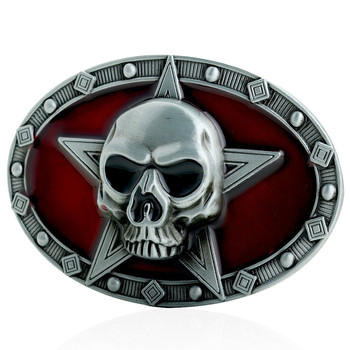 Faitheasy Keltic Knot Tinity Cross Belt Buckle Germanic Style