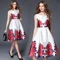 Moda 2017 ucrania ivan mujeres summer dress vintage style plus tamaño dress o cuello oficina de trabajo vestidos de fiesta mujeres dress top