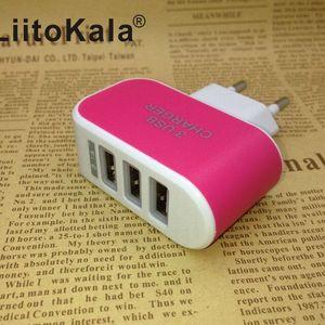 Image 5 - Сетевое зарядное устройство LiitoKala, с USB разъемом, 5 В, 3 А, 2 а, с вилкой Стандарта ЕС и Великобритании, для быстрой зарядки, для адаптера Lii100, Lii202