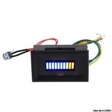 Индикатор уровня топлива 12 В Универсальный автомобильный масляный измеритель масштаба светодиодный масляный 828 акция