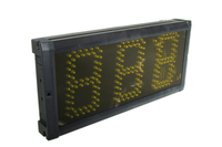 Fedex Free Shipping 5 inch 3 digits yellow day countdown timer led timer